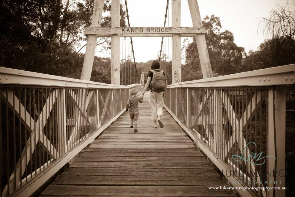 Walking-Over-Bridge